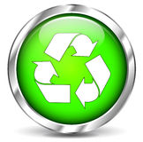 Recycle sign icon Stock Photos