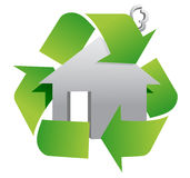Recycle sign symbol Stock Images