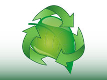 Recycle sign Royalty Free Stock Photo