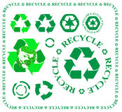 Recycle signs Royalty Free Stock Photography