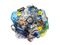 Recycle sphere Stock Images
