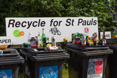 Recycle for St Pauls Royalty Free Stock Photo