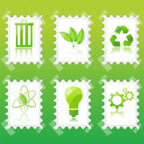 Recycle stamp Stock Image