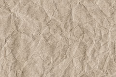 Recycle Striped Brown Kraft Paper Grunge Texture - Detail Stock Images
