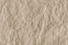 Recycle Striped Brown Kraft Paper Grunge Texture - Detail Stock Photography
