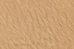 Light Brown Striped Recycled Manila Kraft Wrapping Paper Coarse Grain Crumpled Grunge Texture Royalty Free Stock Image