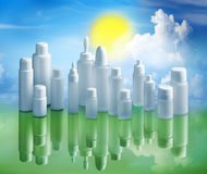 Recycle and sustainability environment concept Royalty Free Stock Image