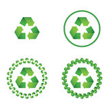 Recycle symbo Royalty Free Stock Photos