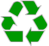 Recycle symbol 1 Royalty Free Stock Photo