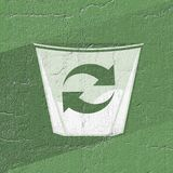 Recycle symbol. Creative design of Recycle symbol royalty free stock photography