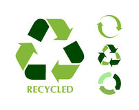 Free Recycle Symbol Royalty Free Stock Image - 18589336
