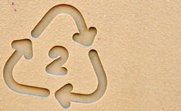 Recycle Symbol 2 Royalty Free Stock Photo