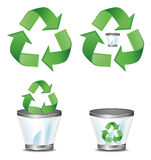 Recycle symbol Royalty Free Stock Photos