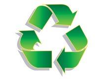 Recycle symbol Stock Photos
