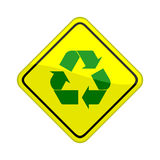 Recycle symbol Stock Image