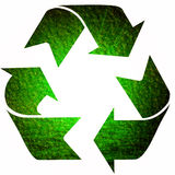 Recycle symbol stock illustration