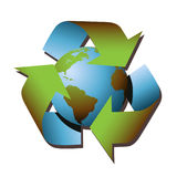 Recycle Symbol Royalty Free Stock Photos