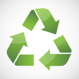 Recycle symbol. Arrow  bio care circle clean conservation Royalty Free Stock Image