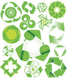 Recycle Symbol Collection Stock Photos