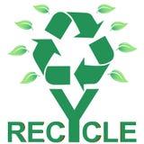 Recycle symbol illustration Royalty Free Stock Image