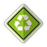 recycle symbol sign icon Royalty Free Stock Photography
