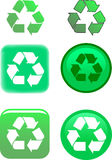 Recycle Symbol Vector Illustration Royalty Free Stock Photo