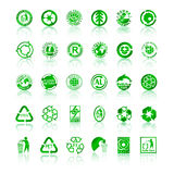 Recycle symbols Stock Photography