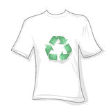 Recycle t-shirt Royalty Free Stock Photos