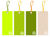 Recycle tag Royalty Free Stock Photo
