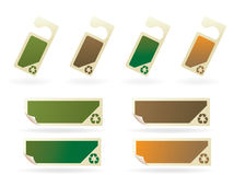 Recycle tag series..no. 1 Royalty Free Stock Photo