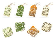 Recycle tag series..no.1 Stock Illustration