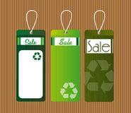 Recycle tags Royalty Free Stock Image