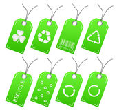 Recycle Tags Stock Photography