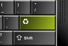 Recycle technology Royalty Free Stock Image
