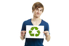 Recycle to a better world Royalty Free Stock Photography