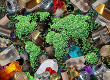 Recycle Trash And The Environment Royalty Free Stock Image