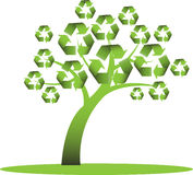 Recycle tree Royalty Free Stock Image