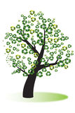 Recycle tree Stock Image