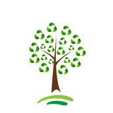 Recycle tree Royalty Free Stock Photography