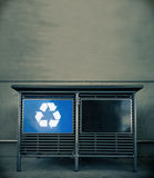Recycle waste concept image Royalty Free Stock Photos