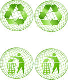 Recycle world Royalty Free Stock Photography