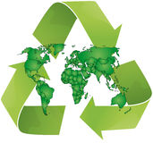 Recycle world Stock Photo