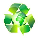 Recycle world stock illustration