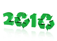 Recycle year Stock Photography