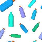 Recyclebare Plastikeinzelteile des Vektors vektor abbildung