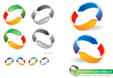Recycled_3 Royalty Free Stock Images