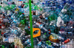 Recycled Bottles royalty free stock photos