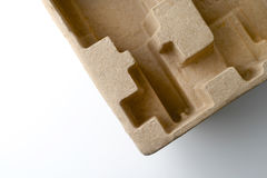 Recycled cardboard packaging Royalty Free Stock Images