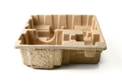 Recycled cardboard packaging Royalty Free Stock Photography