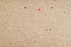 Recycled cardboard texture for background Royalty Free Stock Image